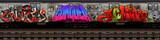 Fototapeta Młodzieżowe - Graffiti Subway Car 3