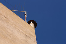 Chimney Of A Tall Building Con...