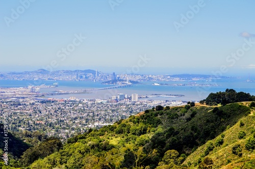 View Over San Francisco and the East Bay Canvas Print