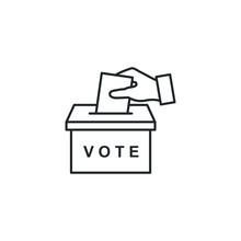 Election Vote Concept Icon Tem...