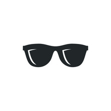 Glasses Black Silhouette Icon ...