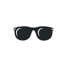 Glasses Black Silhouette Icon ...