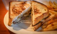 Cheesy Patty Melt With French ...