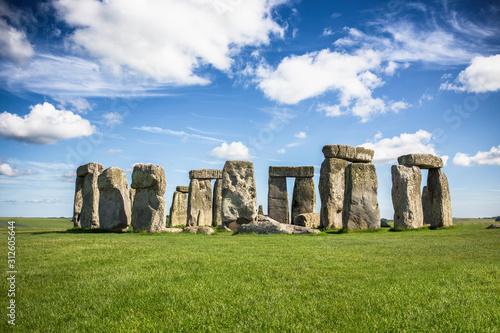 Fotografia Stonehenge on a Sunny Day