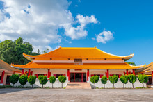 The Martyr's Memorial Hall (Chinese Division 93 Memorial), Doi Mae Salong, Chiang Rai, Thailand.