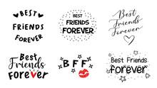 Best Friends Forever Phrase In...