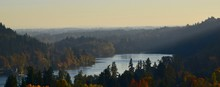 Willamette River At West Linn,...