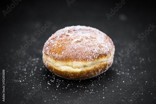 Portion of fresh made Almond Flour on a slate slab (selective focus) Wallpaper Mural