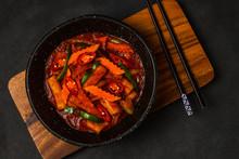 Korean Food Style : Top View O...