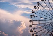 入道雲と観覧車