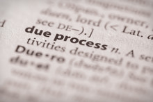 Dictionary Series - Due Process