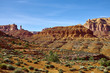 The landscape of Valley of the Gods, Utah, USA