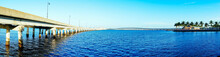 The Peace River At Punta Gorda...