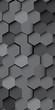 Abstract hexagons background. Modern screen vector design for mobile app