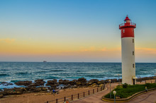 Umhlanga Lighthouse One Of The World's Iconic Lighthouses In Durban North KZN South Africa