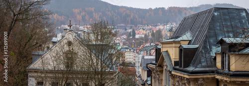 Karlovy Vary Panorama Wallpaper Mural