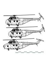 Sikorsky H-19 Chickasaw. Westl...