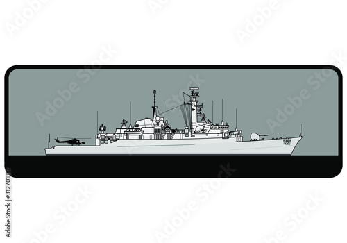 Canvas Print Royal Navy