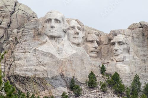 Fotografie, Obraz Mount Rushmore National Memorial Keystone, South Dakota, United States July 4, 2