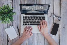 Webinar Concept, Online Educat...
