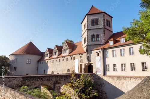 Moritzburg in Halle an der Saale, Sachsen-Anhalt - fototapety na wymiar