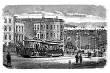 San Francisco Cable Car System, Urban Transport Network In San Francisco With 23 Lines At The End Of 19th Century