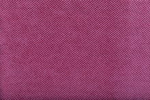 Close-up Of Pink Fabric Surface, Small Stitches As Background
