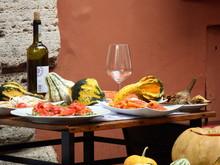 Lunch In Trastevere, Rome