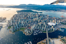 Aerial Photograph Of Downtown ...