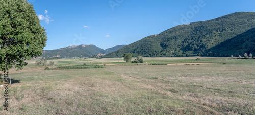 Photo green Apennines upland, Montesano Marcellana, Italy