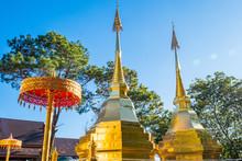 Wat Phra That Doi Tung, Chiang Rai, Thailand.