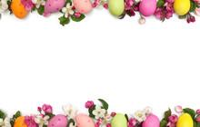 Easter Decoration. Easter Fram...