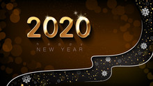 Happy New Year 2020. Design Of...