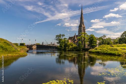 Photo St. Alban's Church in Copenhagen