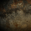 canvas print picture - rusty background texture.