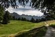 canvas print picture - Allgäuer Alpen - Oberstdorf - Hochleite - Berg Panorama
