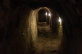 Fototapeta Kamienie - podziemny tunel