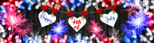 Happy 4th Of July Background -...