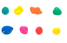 Color Drops, Paint Drops, Desi...
