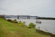 Mississippi River Front Park At Memphis