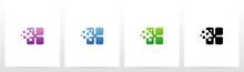 Rounded Edge Pixel Eroded Lett...