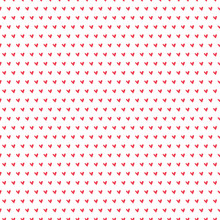 Tiny Red Heart Seamless Patter...