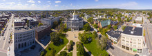 New Hampshire State House Aeri...