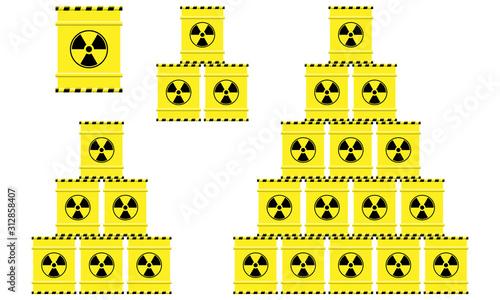 Obraz na plátně Spent nuclear fuel