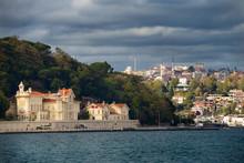 Huber Mansion Residence Of The President Of Turkey On The Bosphorus Strait At Tarabya