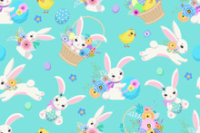 Spring Easter Background With ...