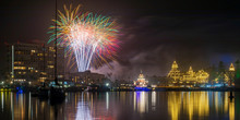 New Year's Eve Fireworks At The Hotel Del Coronado