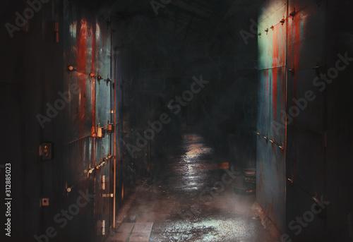 Fényképezés scary street horror movie, Mystic dangerous place