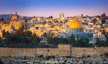 Temple Mount And The Dome Of T...