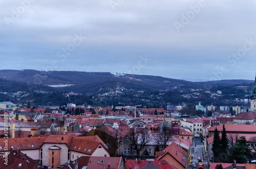 Fototapeta Preszów Słowacja panorama miasta obraz